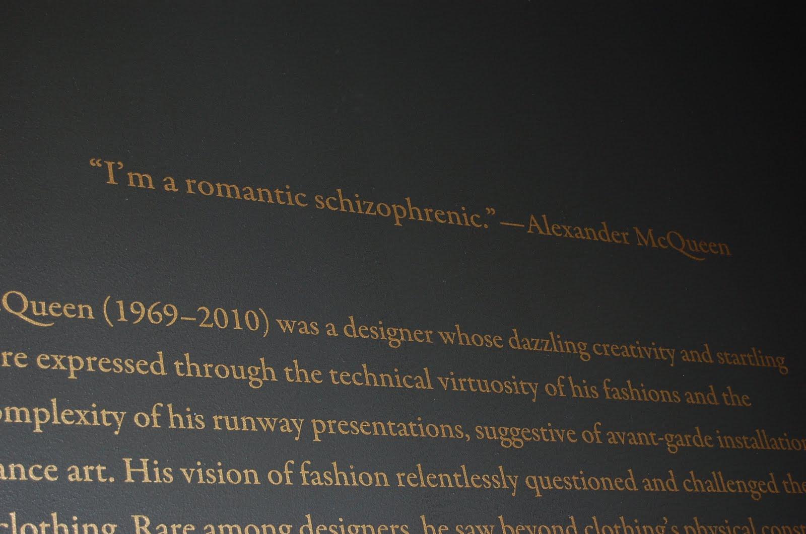 Alexander McQueen: Savage Beauty | Ellegant Home Design