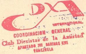 EMBLEMA DEL C.DX.A - INTERNACIONAL