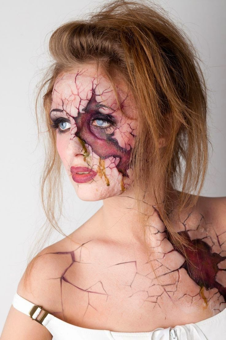 halloween face makeup ideas for women