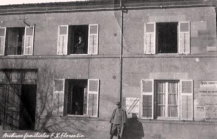 Maison du Docteur Florentin en 1918 à Robert-Espagne