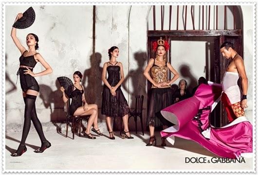 Dolce&Gabbana Frühjahr/Sommer 2015 Kampagne
