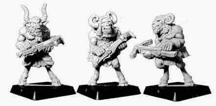 Beastman, Beastmen, Citadel, 1994, chaos, sword, Harlequin, crossbow, Perry, Adams