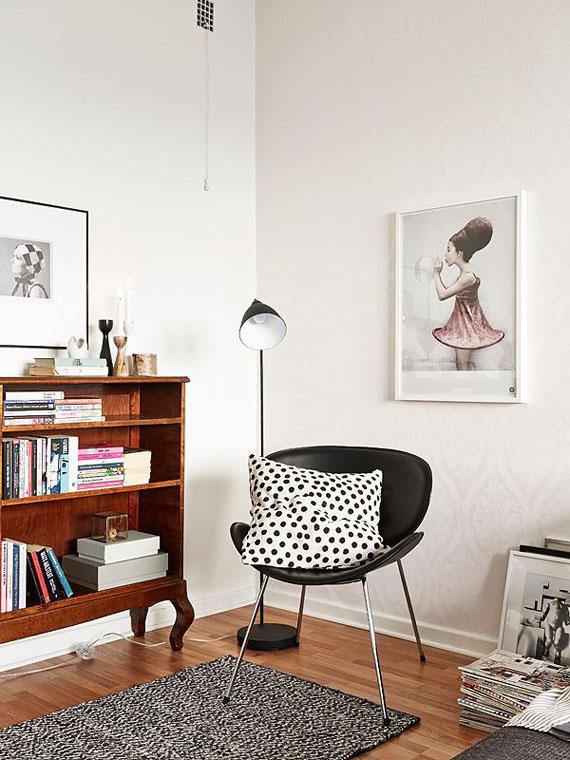Rincones con encanto para leer en casa