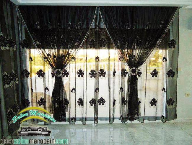 rideaux fenêtre | Decoration marocaine
