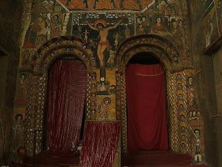 Gondar - Debre Berhan Selassie Pinturas