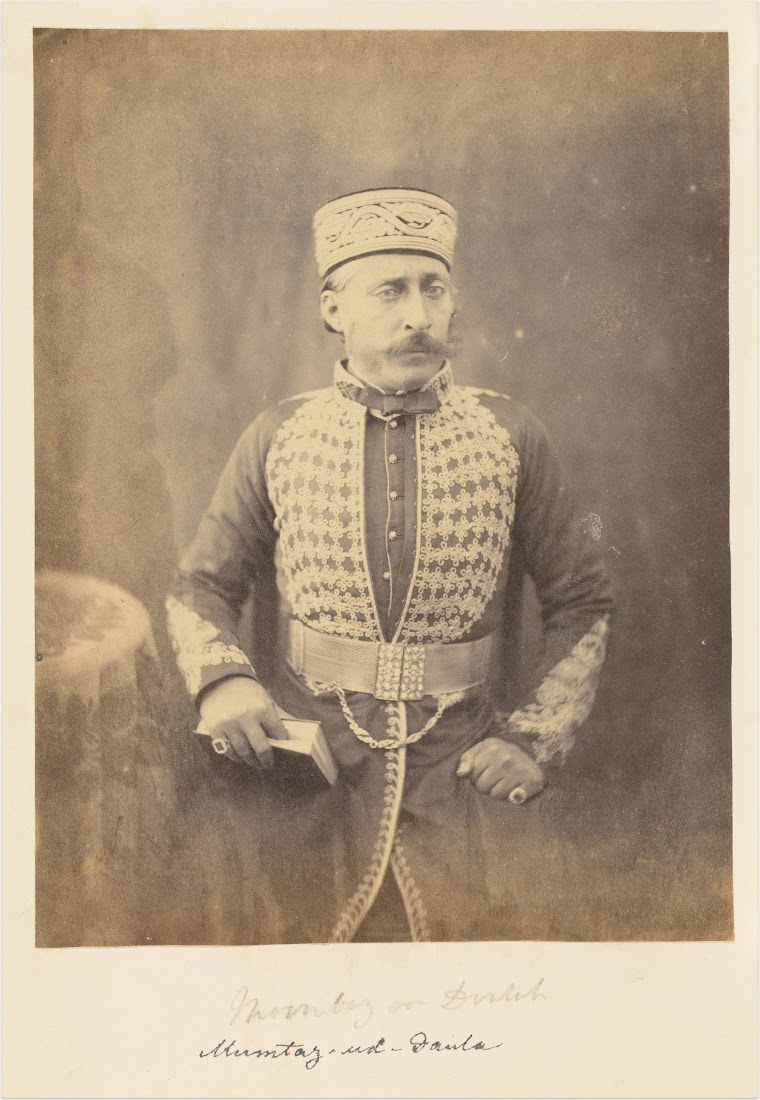 Mumtaz-ud-Daulah of Oudh Royal Family - c1850-60's
