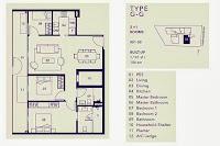 2+1 Bedrooms Floor Plans