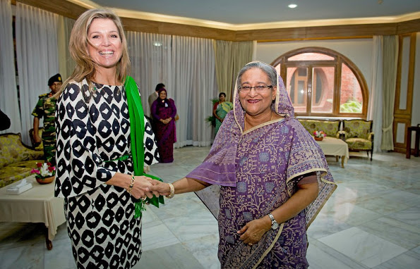Dutch Queen Maxima Visited Bangladesh, Day 3