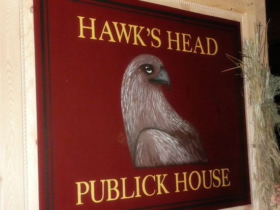 Riley's Farm Hawk's Head Publick House by Lady by Choice