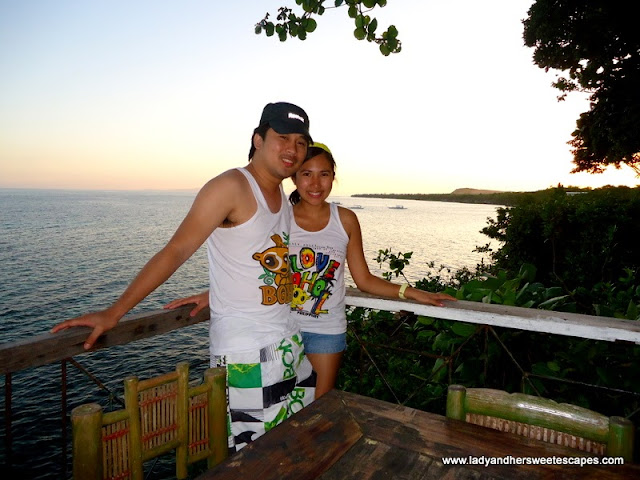ed and Lady in Bohol Bee Farm