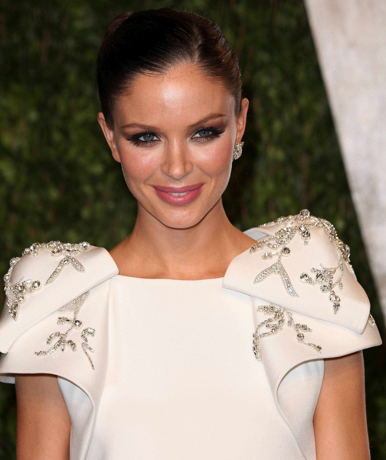 The Look: Georgina Chapman In Marchesa