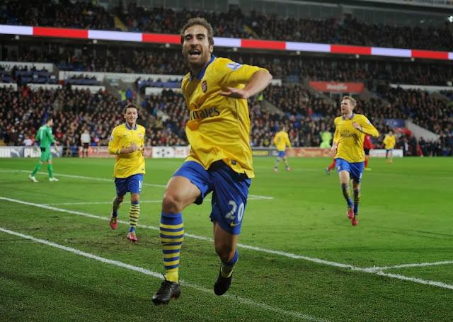 Flamini Arsenal goal