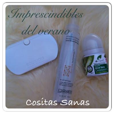 imprescindibles del verano, cosmetica ecologica
