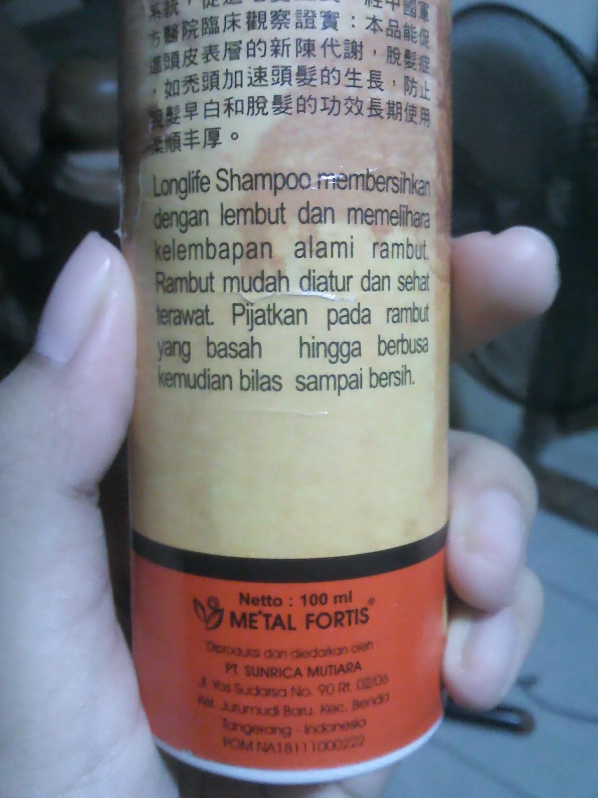 shampo metal