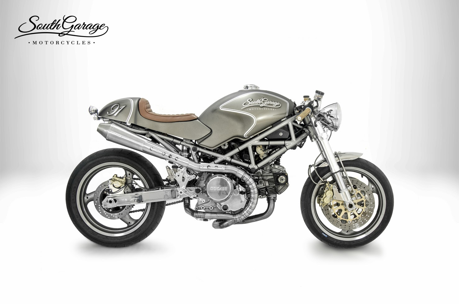 Racing Caf U00e8  Ducati  U0026quot Losa U0026quot  By South Garage Motorcycles