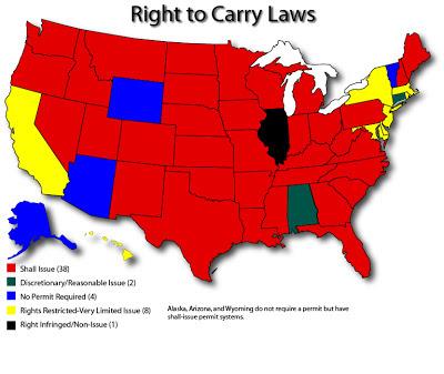оружие в Америке