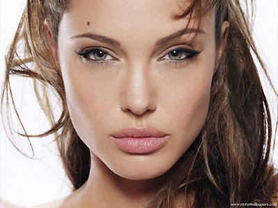 Angelina Jolie hollywood actress wallpaper