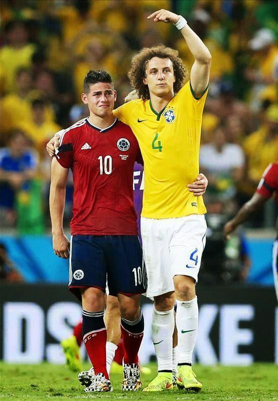Brésil 2- 1 Colombie