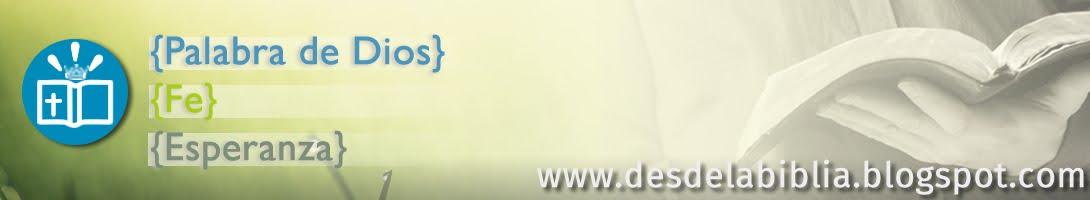 www.desdelabiblia.blogspot.com