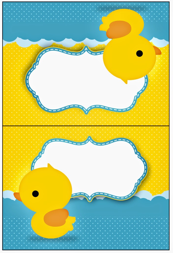Bright image intended for rubber duck printable