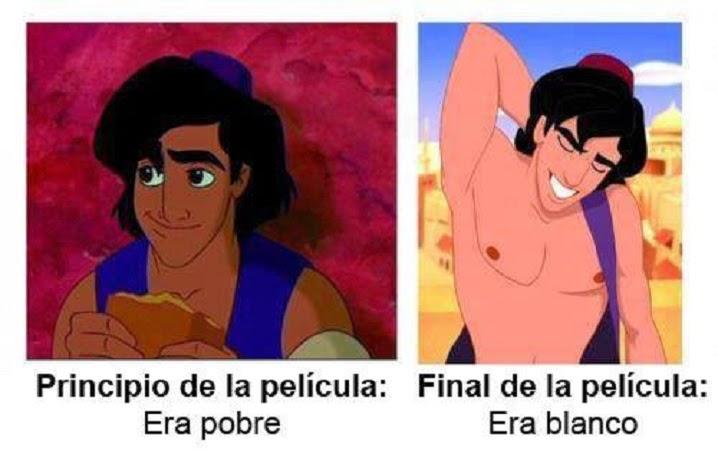 Principio y final de Aladino