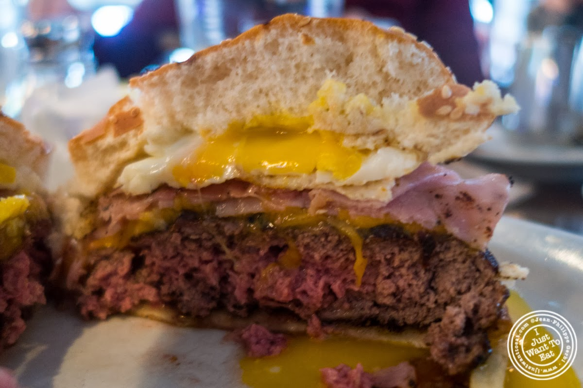 image of Hoboken burger at City Bistro in Hoboken, NJ