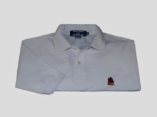 Smathers & Branson needlepoint polo shirt