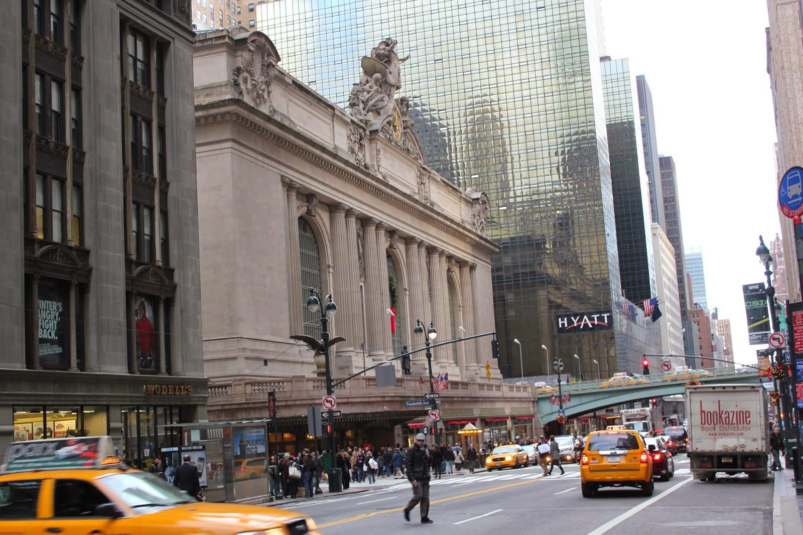 El Gran Central de la Ciudad de  Nueva York USA