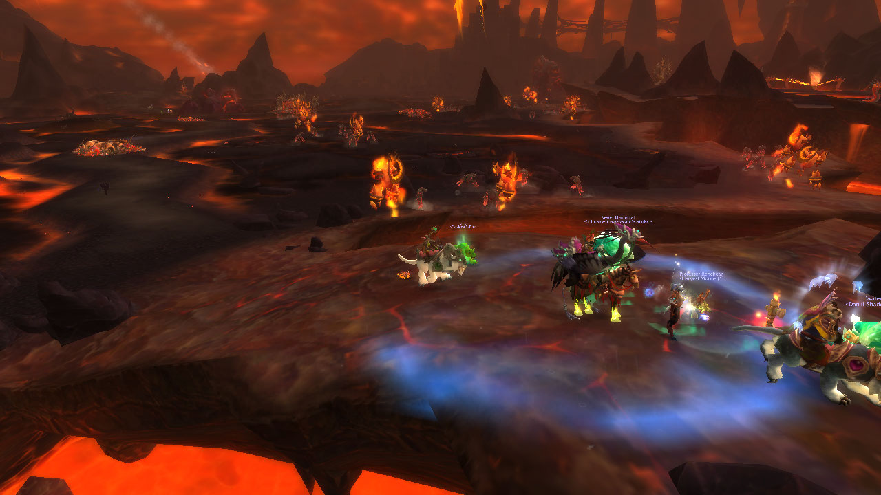 Admiring azeroth firelands run with screenshots for Fireland stufe