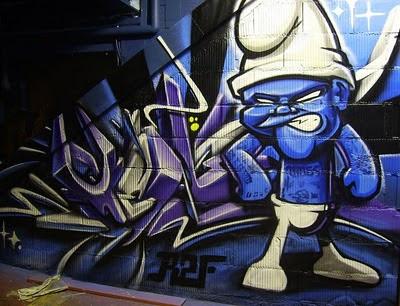 graffiti characters: