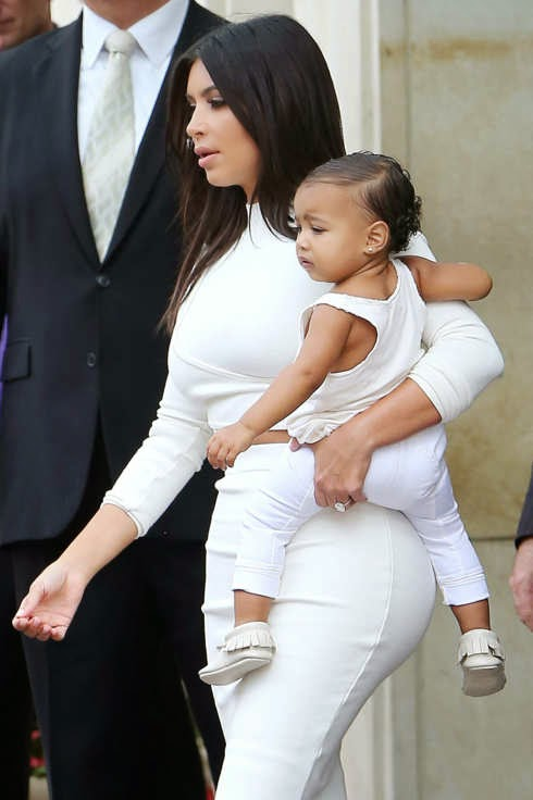 Kim said she would allow her daughter north west to go nude in the future