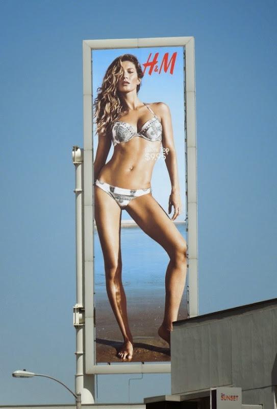 H&M bikini 2014 billboard