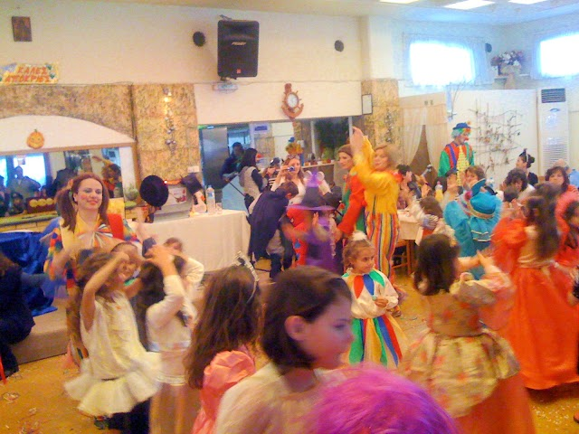 Πετυχημένο αποκριάτικο πάρτυ απο το 3ο Δημοτικό Σχολείο