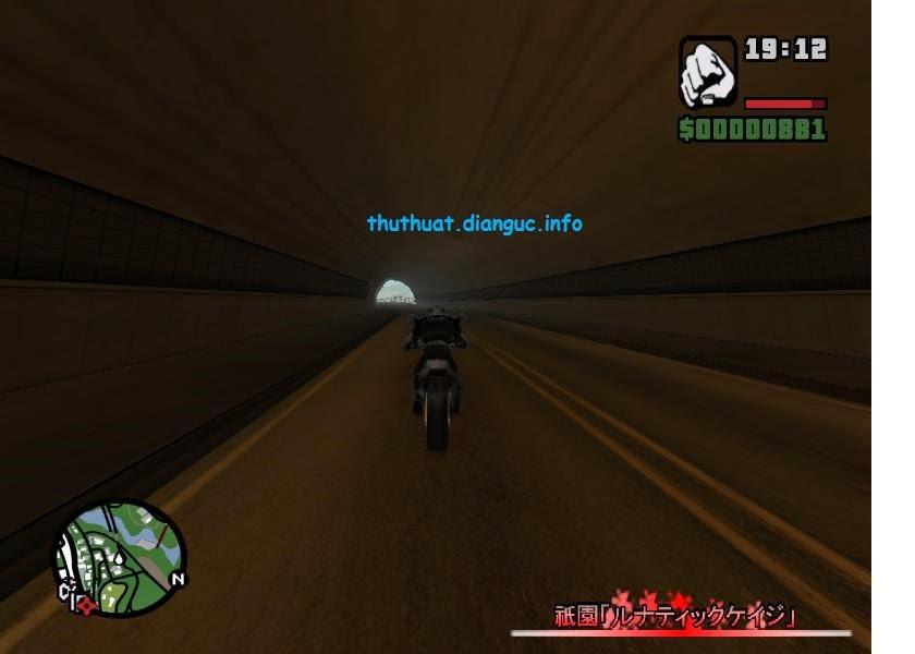 Download GTA San Andreas mod full xe dành cho máy cấu hình yếu