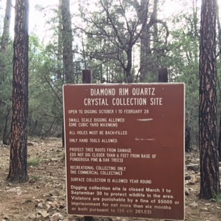Chasing Crystals in Payson
