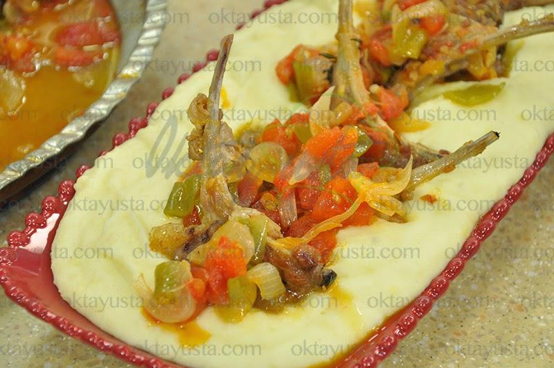 Patates Püreli Soğanlı Pirzola Tarifi