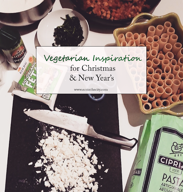 Vegetarian and vegan inspiration for Christmas and New Year's Eve
