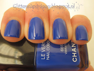 Chanel Vibrato Blue Rhythm Collection