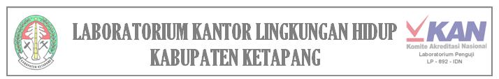 laboratorium lingkungan daerah kabupaten ketapang