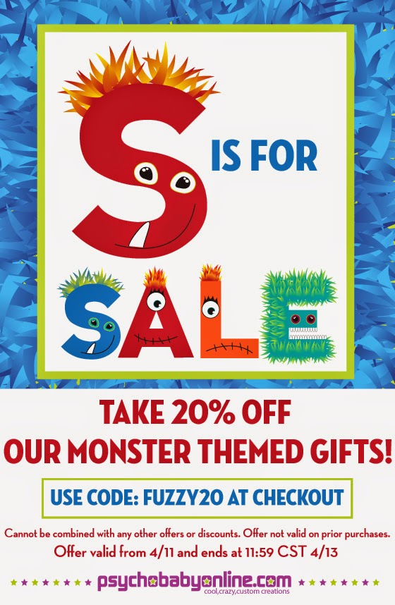 Monster Gifts for Baby and Kids