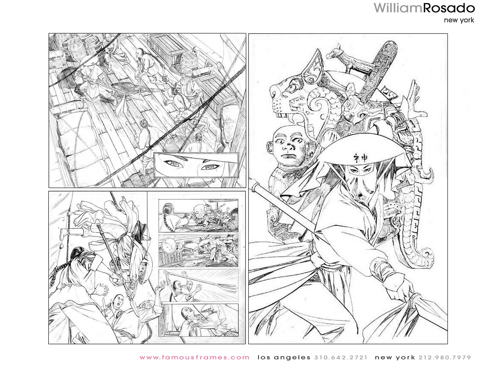 Storyboard Heroes: Famous Frames writeup: William Rosado