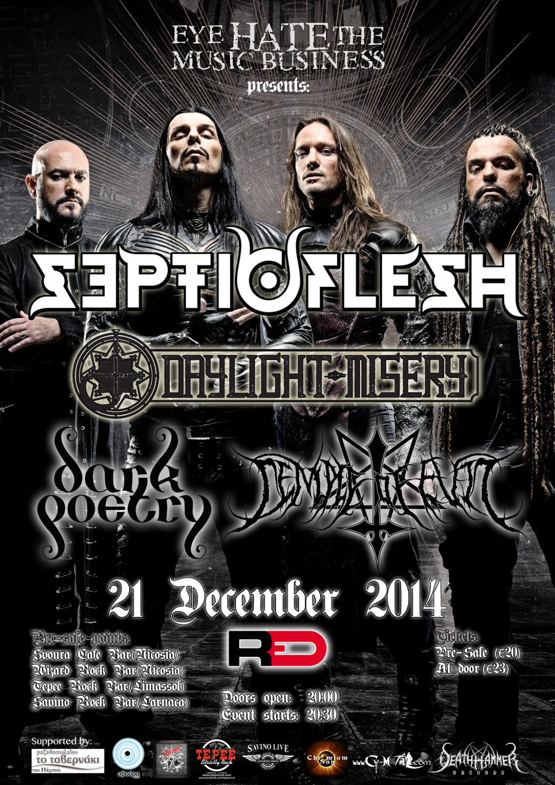 Septic Flesh - Dayligh Misery - Dark Poetry - Temple Of Evil