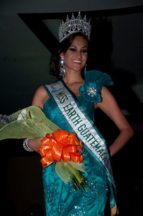 Ana Luisa Montufar,miss guatemala earth 2011,ana luisa