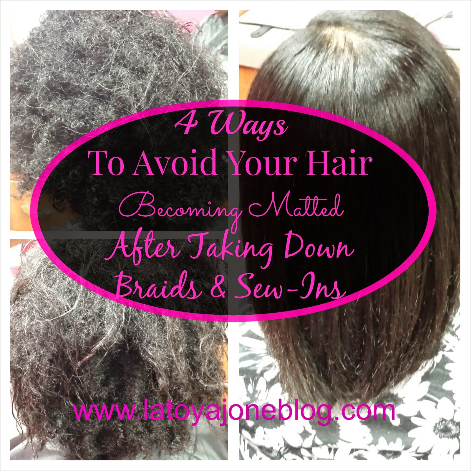 4 Ways To Avoid Your Hair Becoming Matted After Taking Down Braids