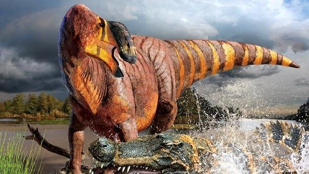 Descoberto dinossauro com nariz gigante