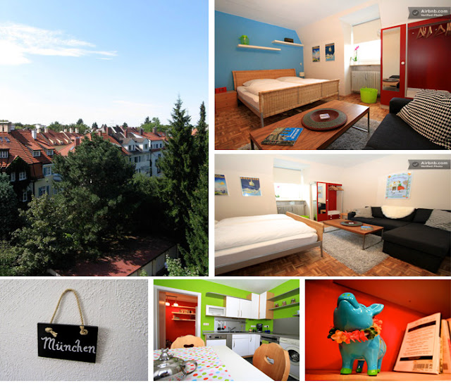 airbnb cozy fairytale vacation accommodation in Munich Germany