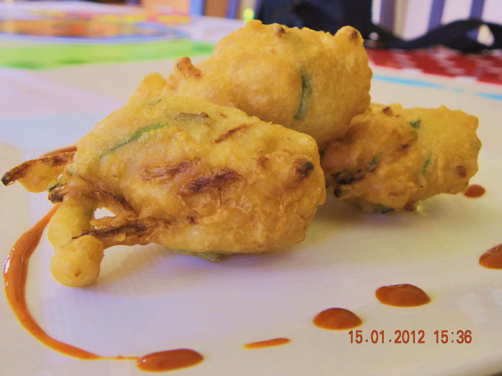 Gourmet World: Cucur Udang / Prawn Fritters