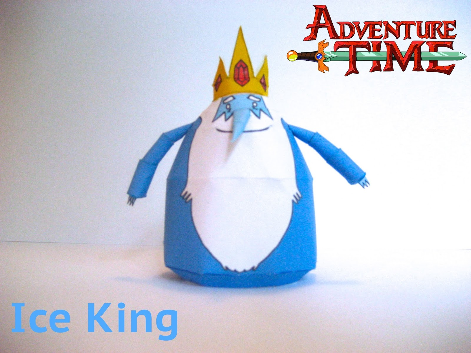 Ice King Papercraft
