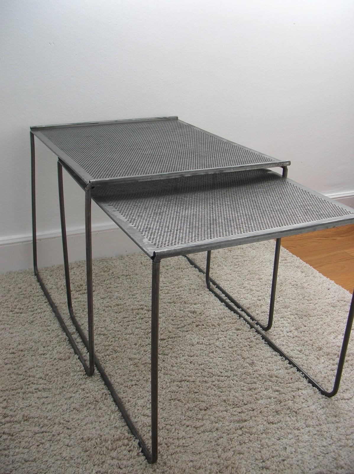 El taller de chlo mesas de metal - Mesas de taller ...