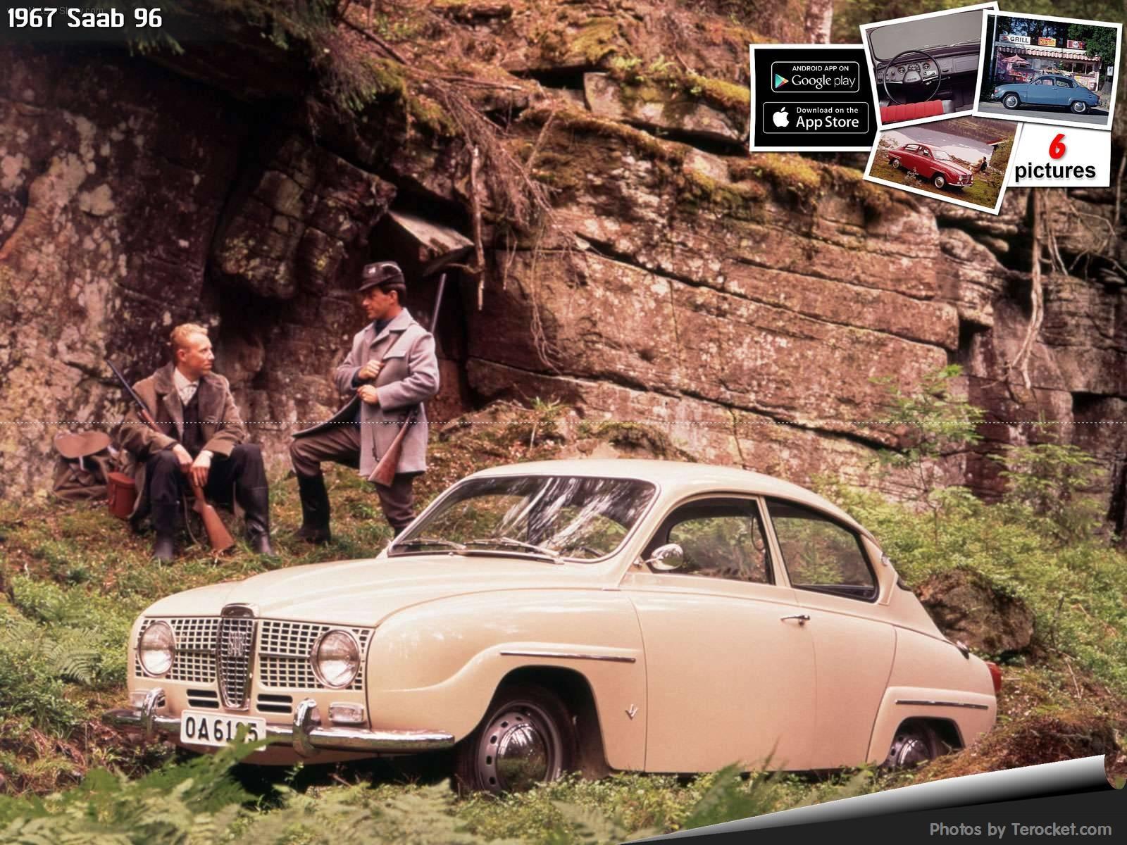 Hình ảnh xe ô tô Saab 96 1967 & nội ngoại thất